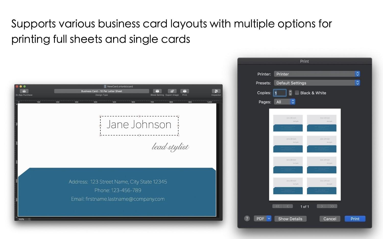 Orion Label And Print Studio Mac 破解版 打印设计软件-麦氪搜(iMacso.com)
